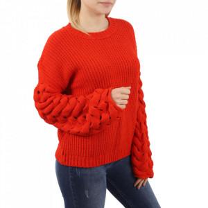 Bluză pentru dame cod F70 Orange - Bluzăpentru dame - Deppo.ro