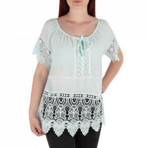Bluză pentru dame tip cămășuță cod 91071 ABS Deschis
