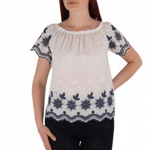 Bluză pentru dame tip iie cod YY8 White