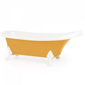 Cadă de baie KNOSSOS LIMONIT - Căzile de baie din această gamă pot fi amplasate chiar și în afara ambientului unei băi. Simple, spațioase, cu design minimalist, căzile din noua gamă freestanding sunt o alegere sigură, potrivită oricărui stil ambiental. - Deppo.ro