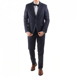 Costum classic fit 2100-5 Albastru
