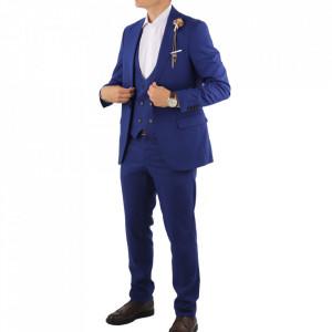 Costum slim fit 1734 Albastru