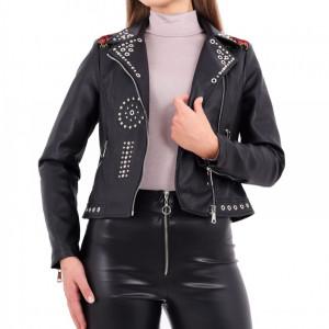 Geacă Bandite Neagră - Cumpără îmbrăcăminte și încăltăminte de calitate cu un stil aparte mereu în ton cu moda, prețuri accesibile și reduceri reale, transport în toată țara cu plata la ramburs - Deppo.ro