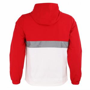 Geacă pentru bărbați cod 6376 Roșie - Geacă pentru bărbați model primăvară-toamnă pe roșu, ideală pentru mișcare în aer liber - Deppo.ro