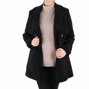 Palton Carmen Black