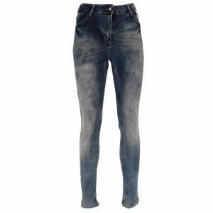 Pantaloni de blugi pentru dame cod 2070 Albaștri