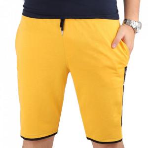 Pantaloni scurți pentru bărbați cod LPM52 Yellow