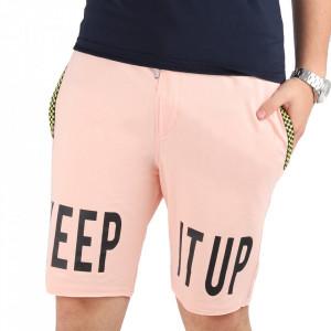 Pantaloni scurți pentru bărbați cod PP7 Pink