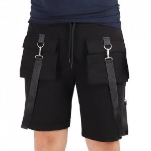 Pantaloni scurți pentru bărbați cod SNR2 Black