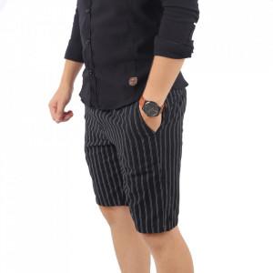 Pantaloni scurți pentru bărbați cod W-7165 Black