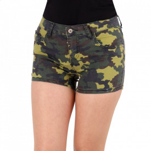 Pantaloni scurți pentru dame cod PS07 Army Green
