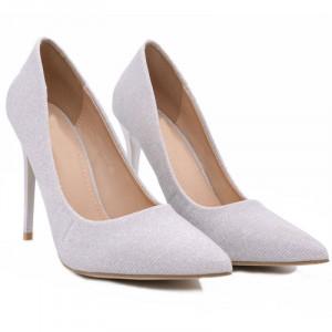 Pantofi cu toc cod 2793 Gri