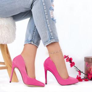 Pantofi cu toc cod CP5230 Fuchsia