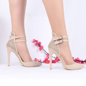 Pantofi Cu Toc cod GH39 Nude