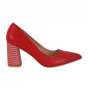 Pantofi cu toc cod OD0205 Red