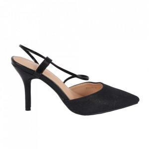 Pantofi cu toc cod OD0218 Black