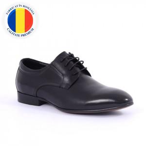 Pantofi din piele naturală Alberto