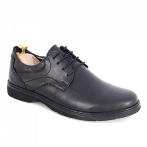 Pantofi din piele naturală cod 04 Negru