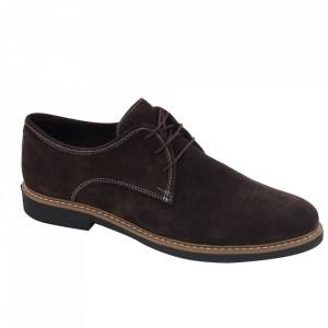Pantofi din piele naturală întoarsă cod Alex Maro