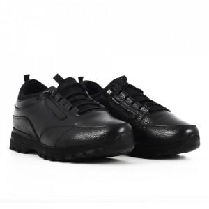 Pantofi din piele naturală pentru bărbați cod 204949 N