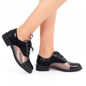 Pantofi pentru dame cod 310583 Negri