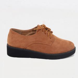 Pantofi pentru dame cod 930-19 Camel