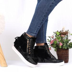 Pantofi Sport Carley Cod 694 - Pantofi sport din piele ecologică  Model cu franjuri  Închidere prin șiret  Foarte comfortabili - Deppo.ro
