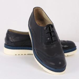 Pantofi sport din piele naturală Cod KATY A Navy