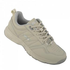 Pantofi sport din piele naturală pentru bărbați cod 9163-3 Beige
