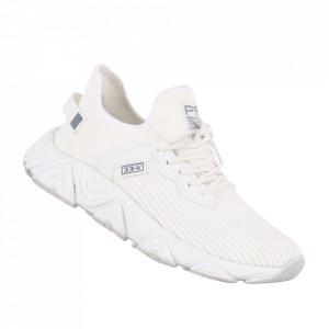 Pantofi sport pentru bărbați cod 041-41 White