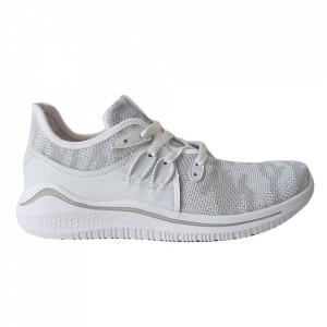 Pantofi sport pentru bărbați cod 1928-1 White