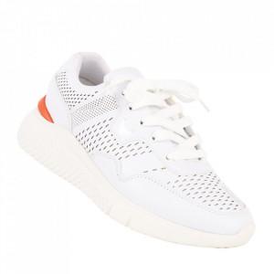 Pantofi sport pentru bărbați cod BBRT10 White