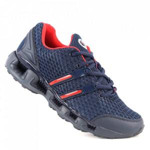 Pantofi sport pentru bărbați cod N98N Navy/Red