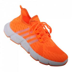 Pantofi sport pentru dame cod 133A Orange