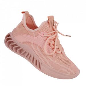 Pantofi sport pentru dame cod E103 Pink
