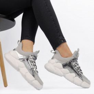 Pantofi Sport pentru dame Cod L304-1 Grey