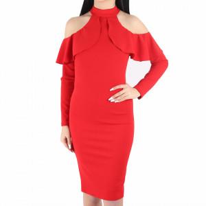 Rochie Tresa Red