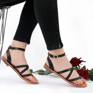 Sandale cu talpă joasă cod M34 Black
