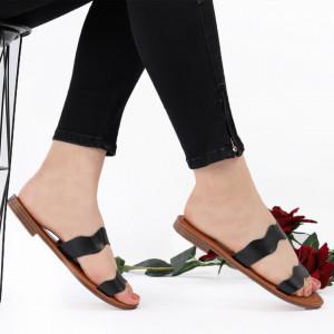 Sandale cu talpă joasă cod M43 Black