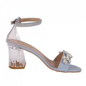 Sandale din piele ecologică cod 2107 Blue