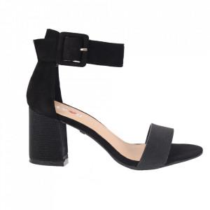 Sandale din piele ecologică cod M27 Black