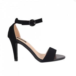 Sandale din piele ecologică cod YBS Black
