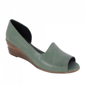 Sandale din piele naturală cod 0635 Green