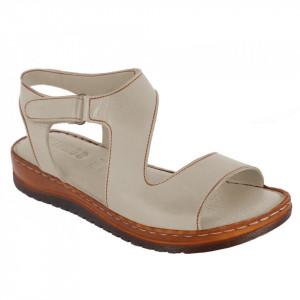 Sandale din piele naturală cod 140 Pudra Powder