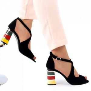 Sandale din piele naturală pentru dame cod 1217 VN