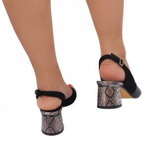 Sandale din piele naturală pentru dame cod 19966 Syh - Sandale cu un model deosebit din piele ecologică, foarte confortabili potriviți pentru birou sau evenimente speciale. - Deppo.ro