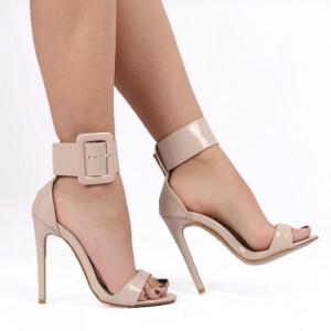 Sandale pentru dame cod 4340-5 BEIGE