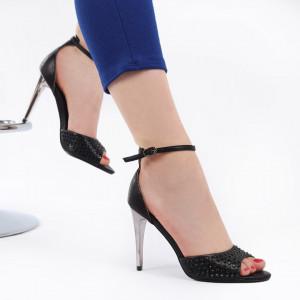 Sandale pentru dame cod 58721A Negre