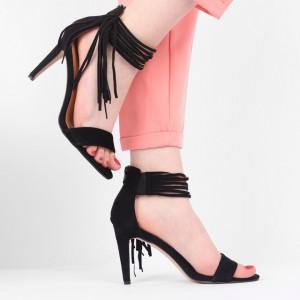 Sandale pentru dame cod B5667 Negre