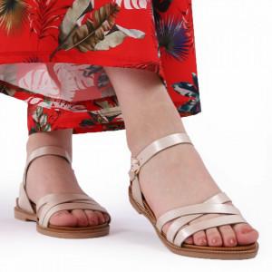 Sandale pentru dame cod BX09 Gold
